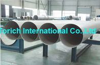 A358/A358M High Temperature Inconel Welded Stainless Steel Tube / Electric Fusion Welded Pipe